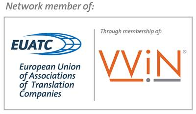 We are a professional member of EUATC trough our VViN membership